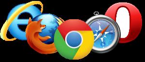 Logotipos de navegadores