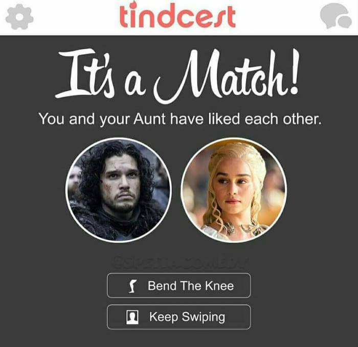 Its a Match Game Of Thrones