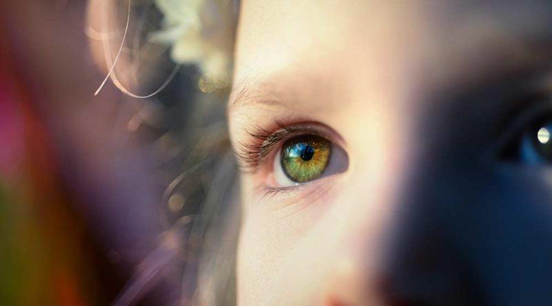 Beijo no olho