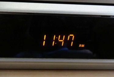 Horas iguais relógio